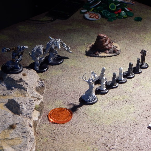 Circle stands ready to hold back the Blighted onslaught.