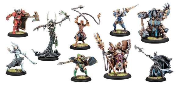 New Warcasters